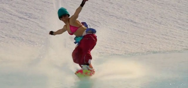 girls snowboarding movie