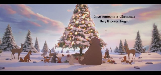 The Bear The Hare Christmas Advert